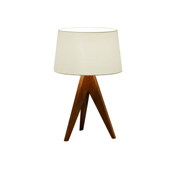 Modernist Flare Reading Light Fabric 1 Bulb Nightstand Lamp in White/Red/Blue for Living Room Table Lamps fSdw9