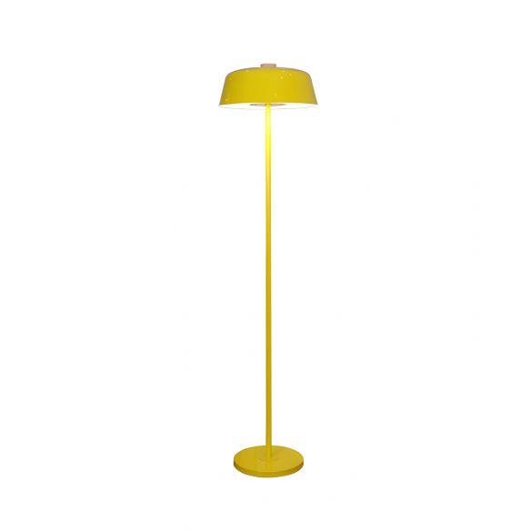 Barn Shade Floor Standing Light Nordic Metallic Single Light Pink/Yellow Finish Stand Up Lamp Floor Lamps UsCT9